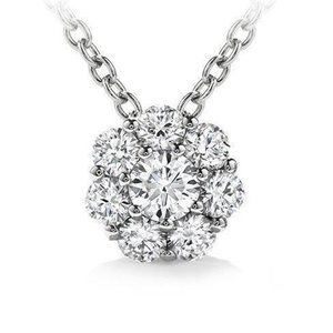 Jewelry - Prong Set 4.80 Carats Brilliant Cut Diamond Pendan